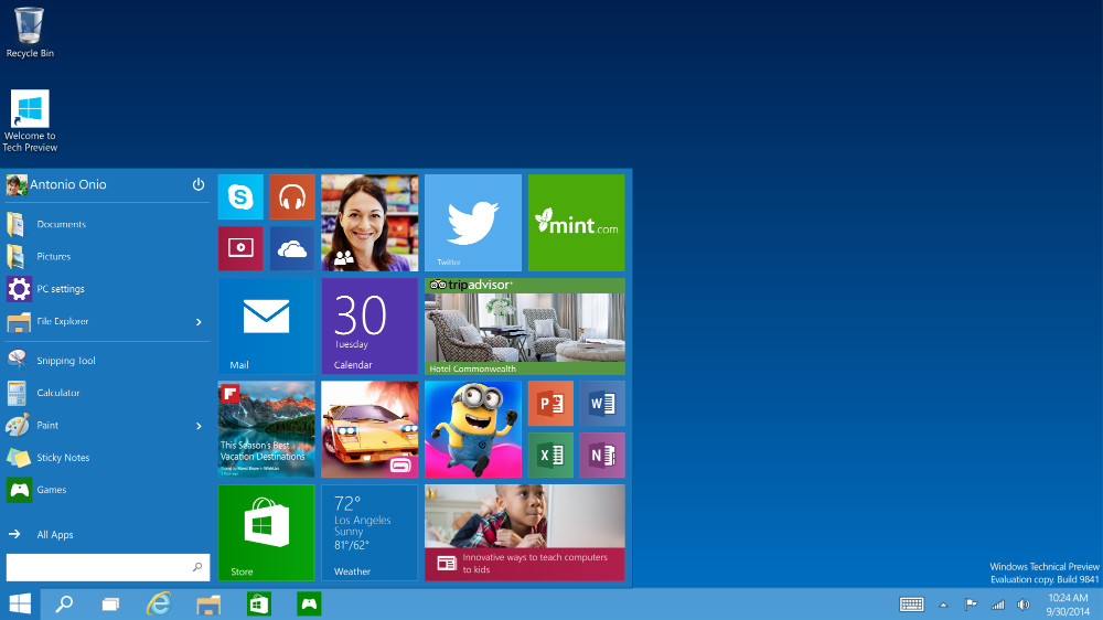 настройки за сигурност Windows 10